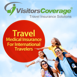 Visitors Coverage Travel Insurance